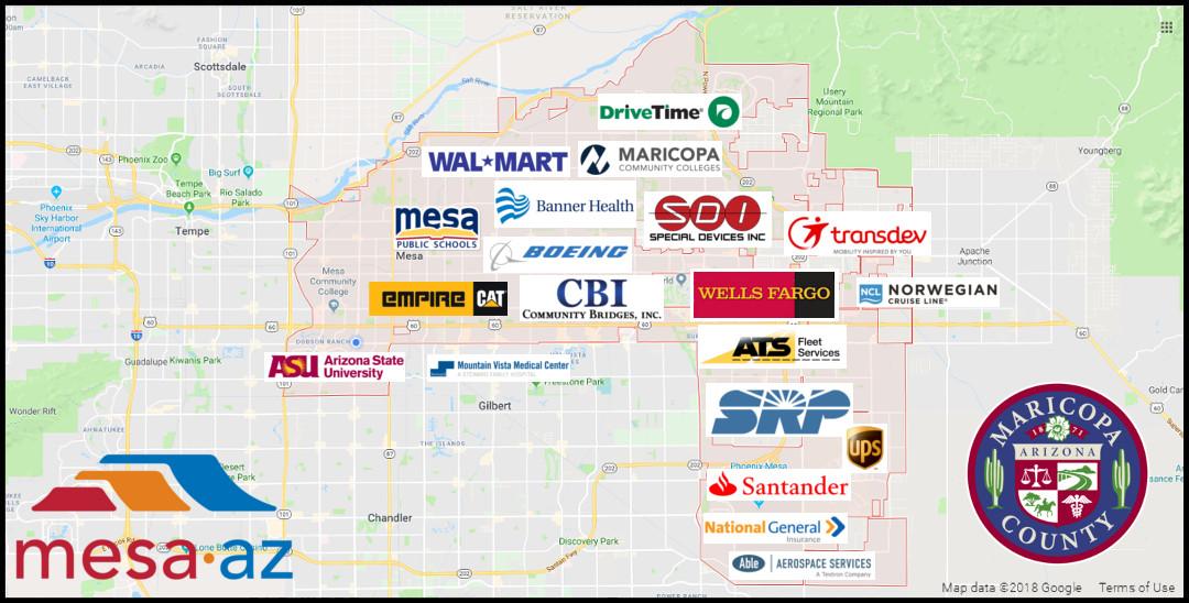 University Of Arizona Keating Building Map.Mesa